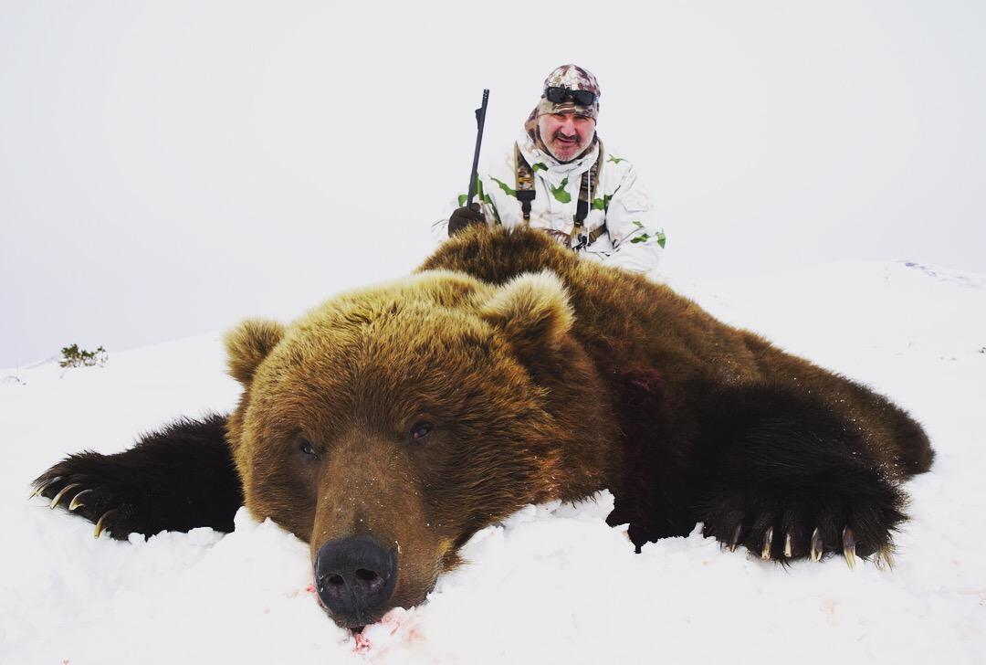 Hunting in Kamchatka